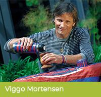 Viggo Mortensen pije yerbę