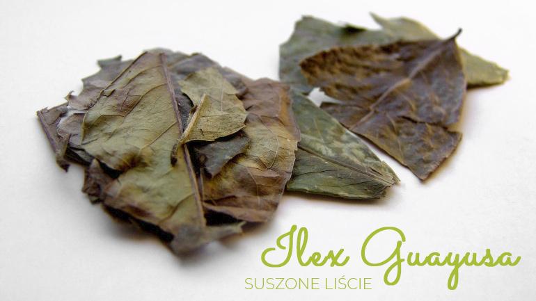 Ilex Guayusa całe liście