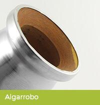 Naczynko wykonane z okutego drewna algarrobo