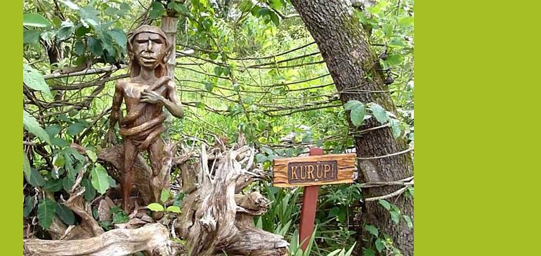 Figurka legendarnego Kurupi